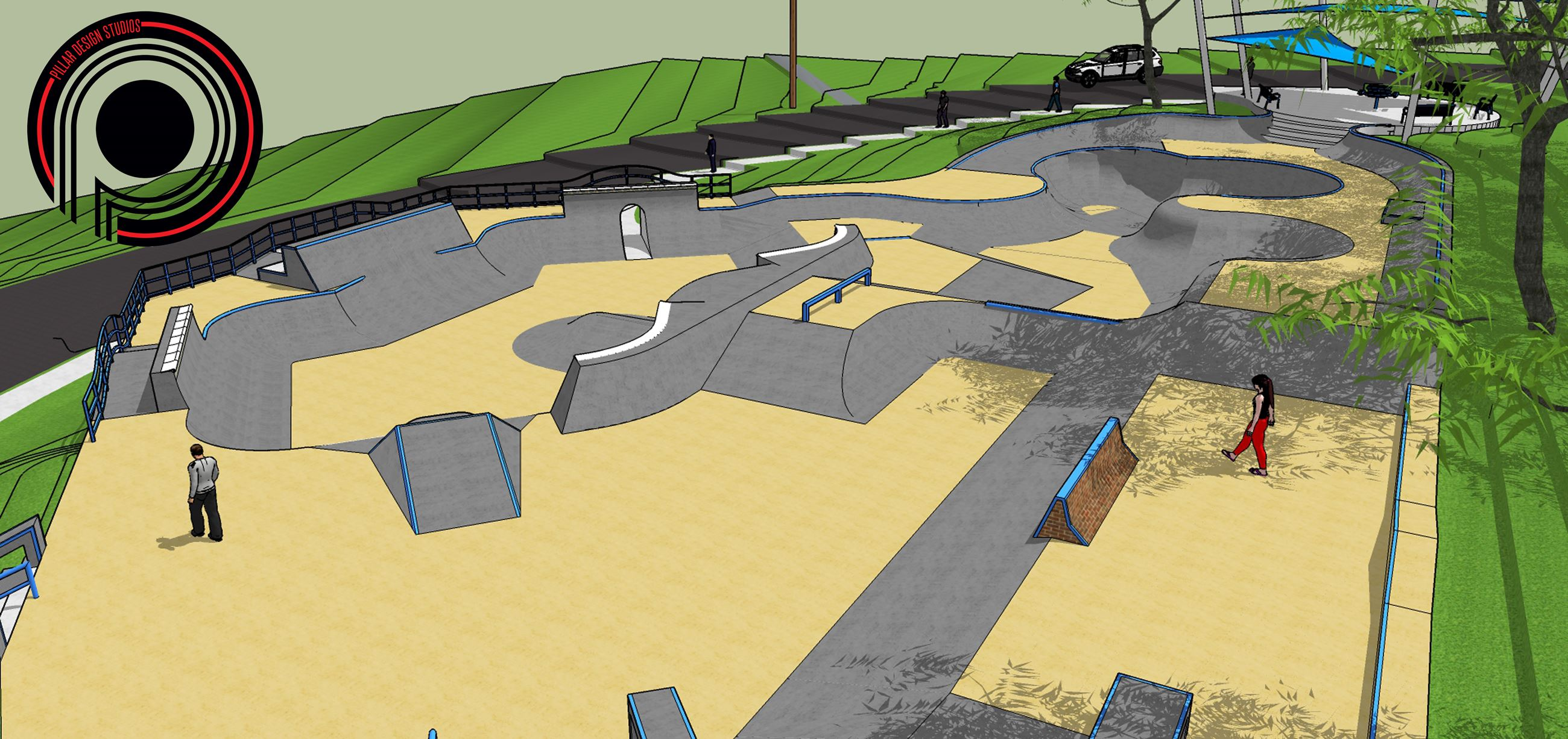 Dubuque Skatepark 6