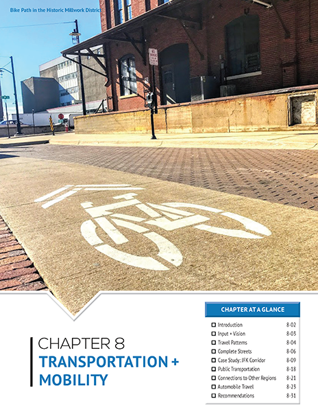2017 Comprehensive Plan: Transportation + Mobility
