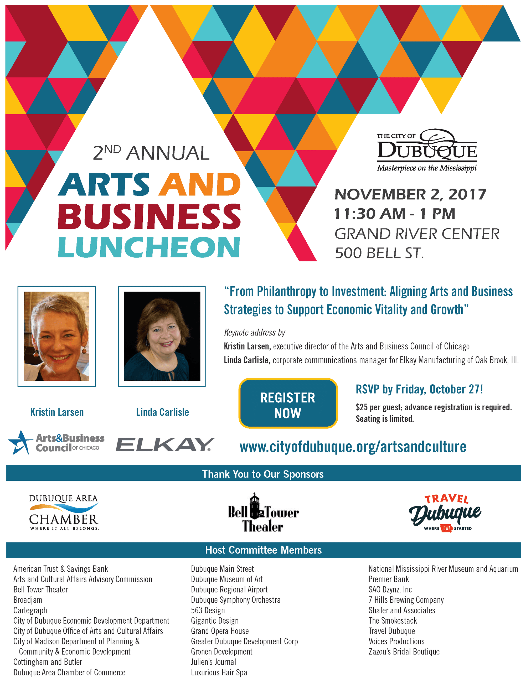Arts Business Luncheon Invite 2017 (005)