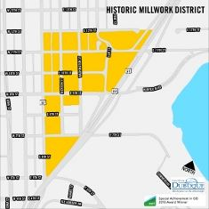 Historic Millwork District Boundary