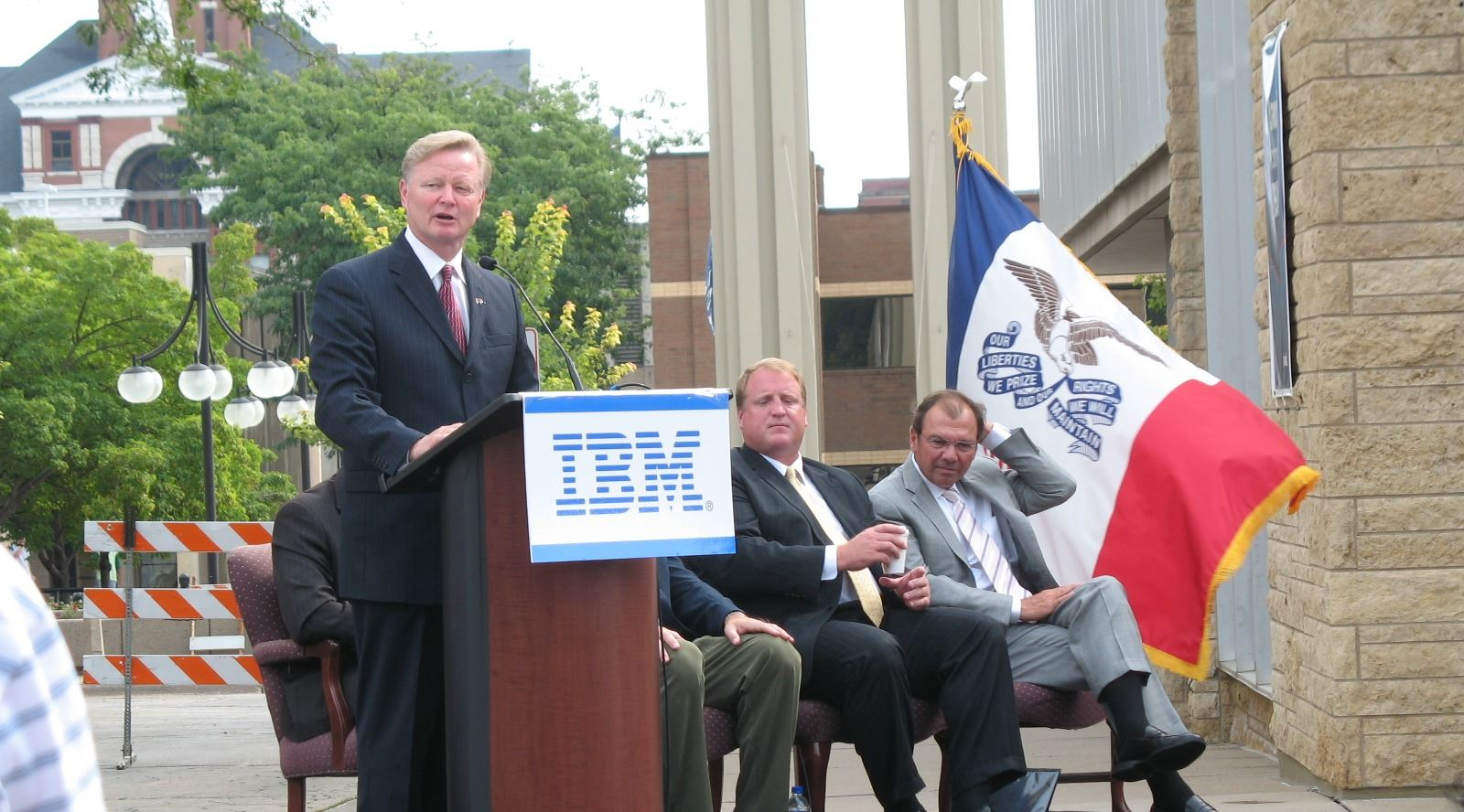 IBM Ribbon Cutting