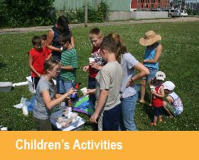 Children's Activities at the Bee Branch