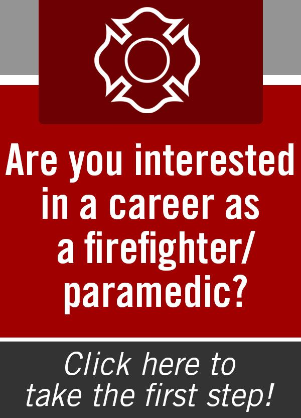 Fire Department Career Opportunity