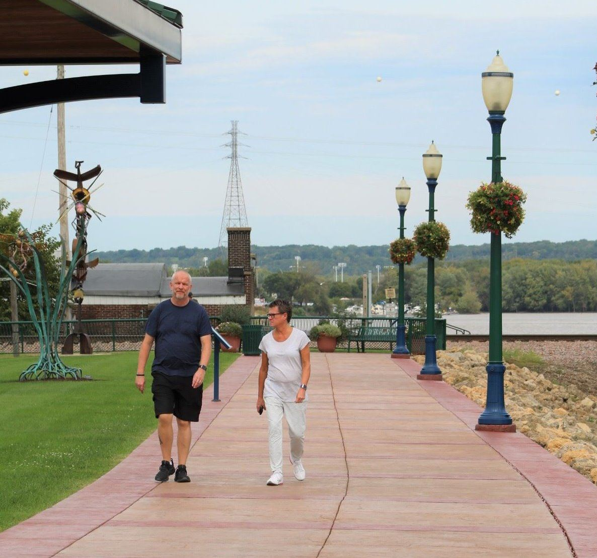 The Mississippi Riverwalk may be rented for public events for $200.00 per day.