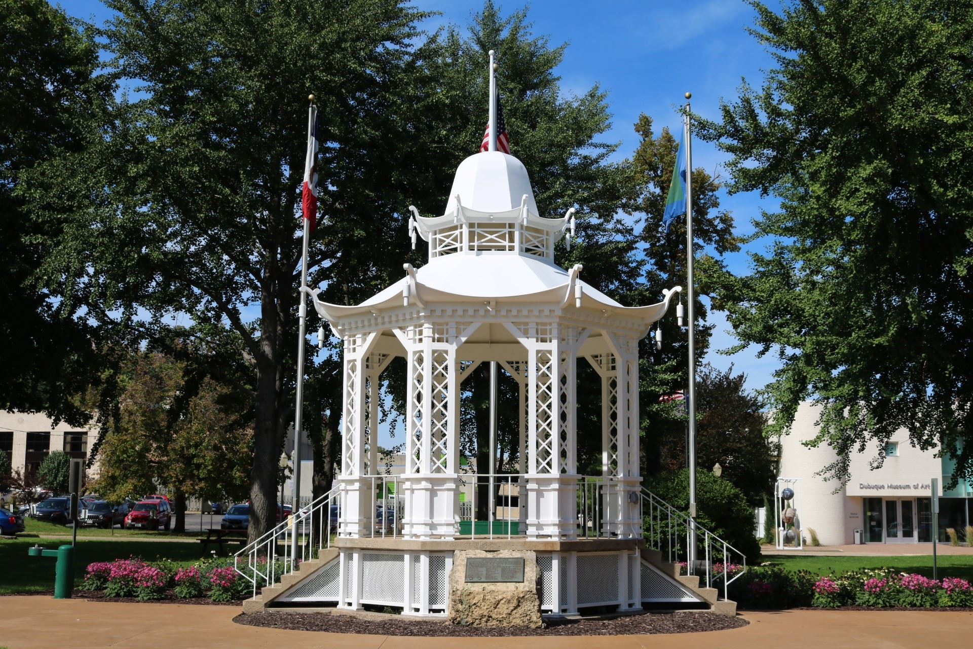 The Washington Park Gazebo price is $20.00 for a rental.