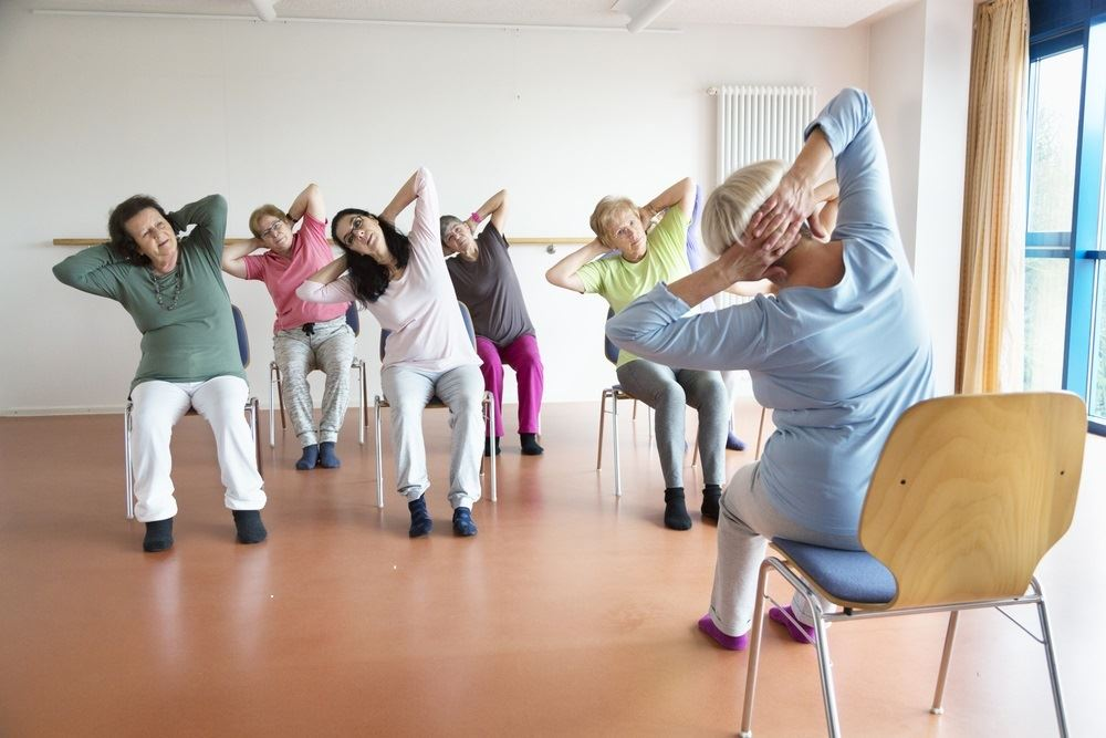 active adults- yoga